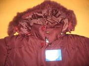 Зимняя куртка для девочки (6-9лет)-250л,  байк. комбинезон-70л.